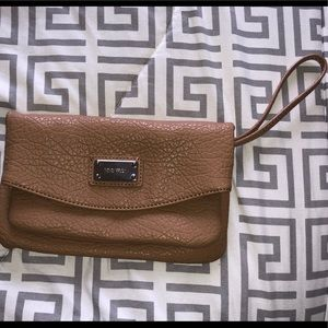 Nine West Tan Clutch